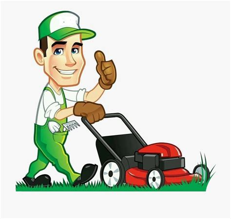 Cartoon Lawn Care