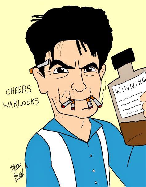 Charlie Sheen Cartoon