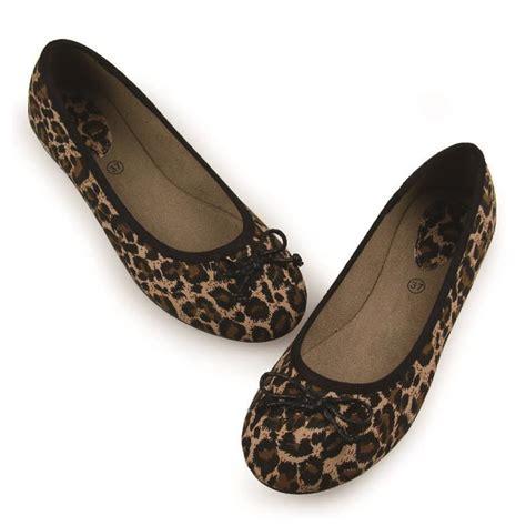 Comfortable Leopard Flats