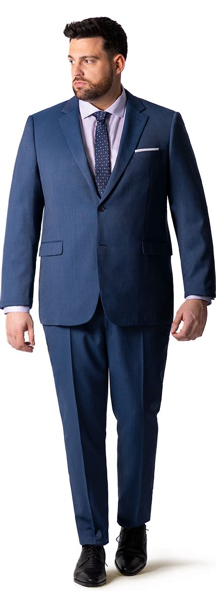 Custom Big and Tall Suits