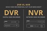 DVR Camera vs NVR Camera