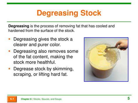 Degreasing Stock