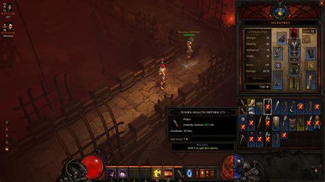Diablo III PC Inventory