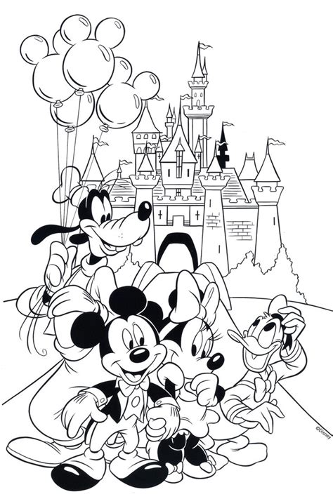 coloring pages cartoons disney Page 2 search