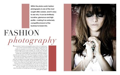 Fashion Magazine Spread