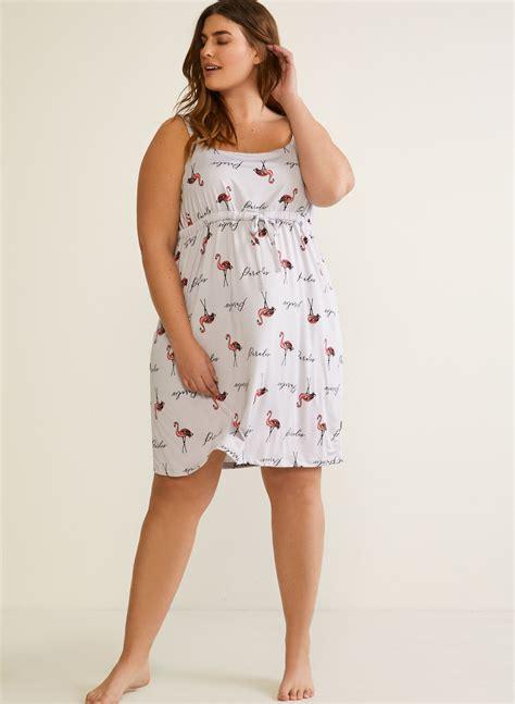 Fleece Nightgown Empire Waist