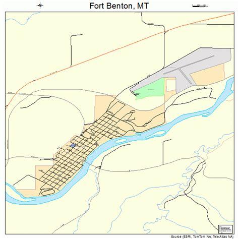Fort Benton Map