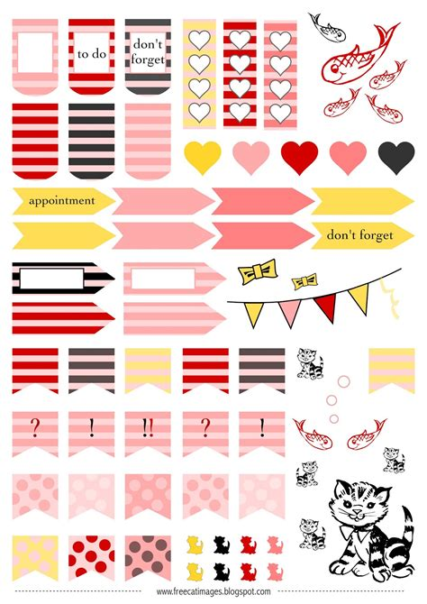 Galerry free printable planner themes Page 2