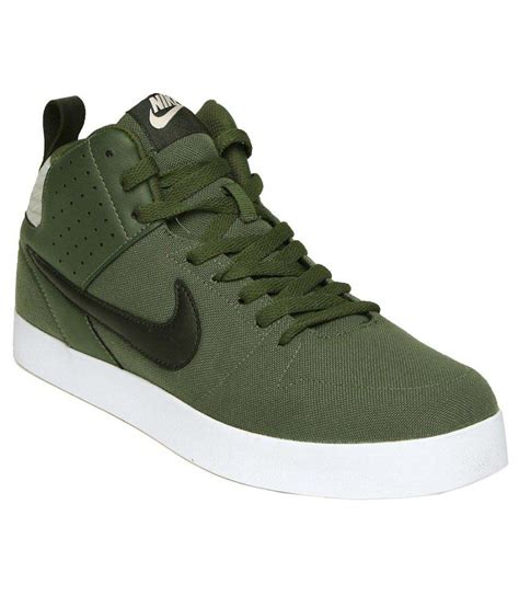 Green Nike Sneakers for Men