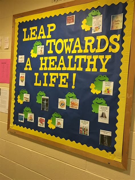 Health & Fitness Bulletin Board