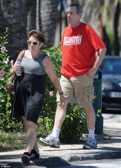 Hugh Laurie Wife
