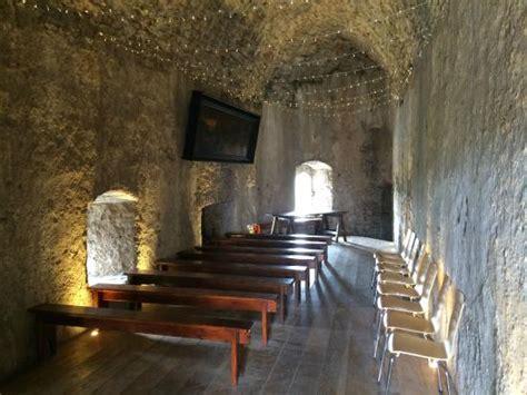Inside Pembroke Castle