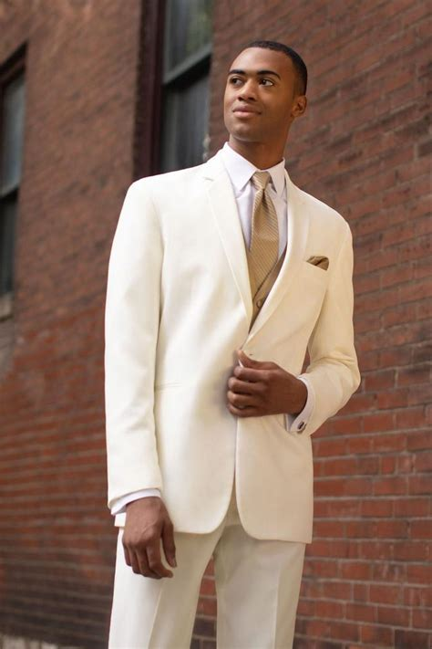 Ivory Prom Suits