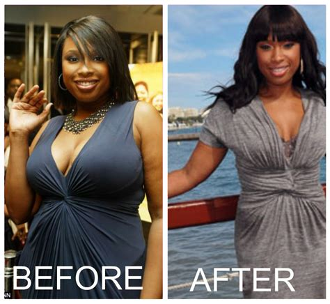 Jennifer Hudson Before Losing Weight