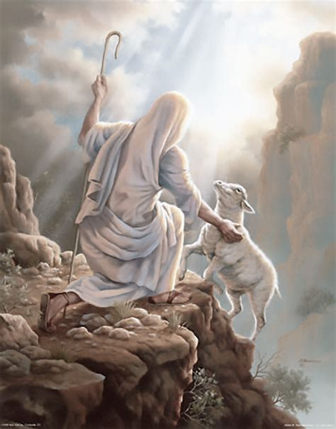 Jesus Rescues Sheep