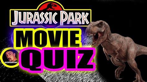 Jurassic Park Trivia
