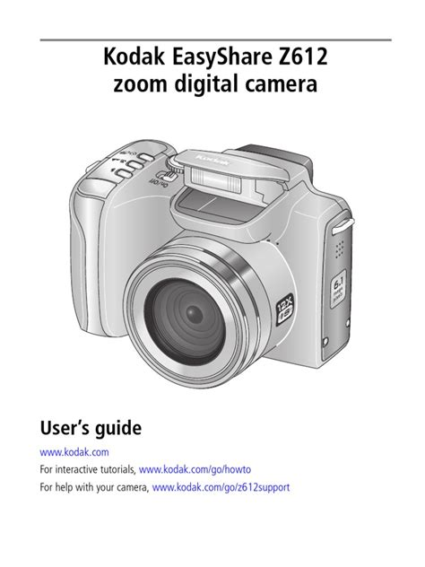 Kodak EasyShare Camera User Guide
