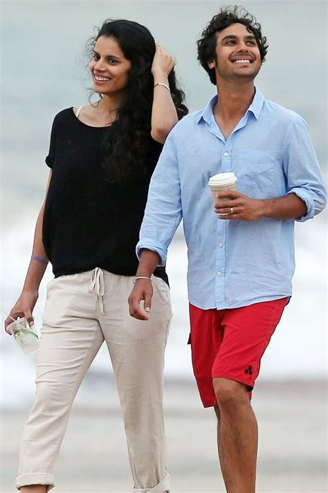 Kunal Nayyar Images of His Wife