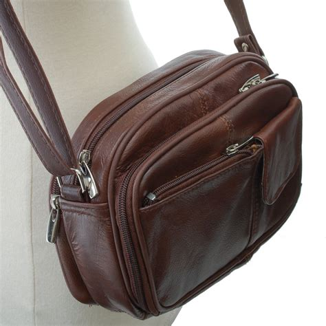 Leather Cross Body Bags for Women