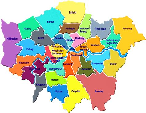 London Districts List