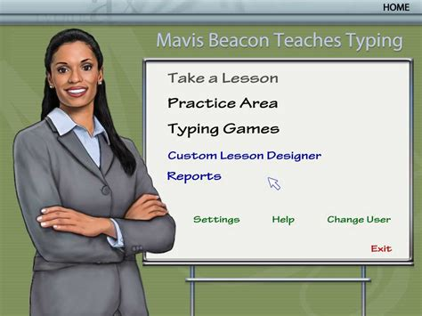 Mavis Beacon Teaches Typing Deluxe
