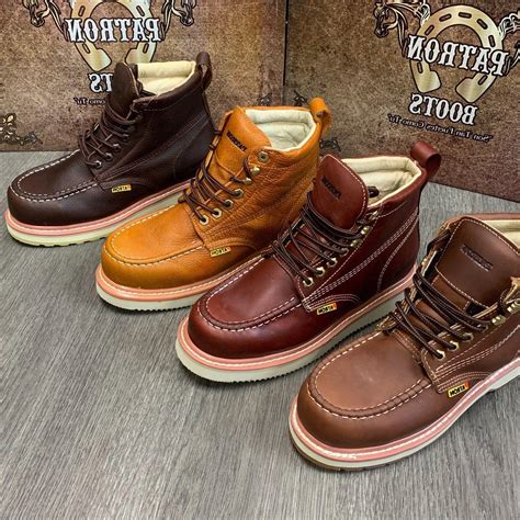 Men's Leather Boots and Shoes