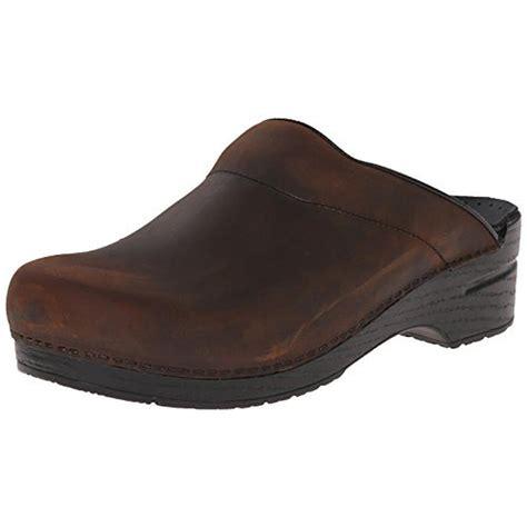 Men's Shoes Clogs Leather