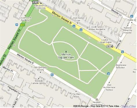 Merrion Square Map
