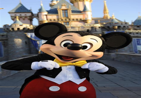 Mickey Mouse Disneyland Resort