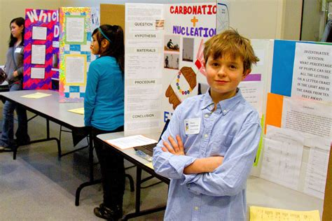 Middle School Science Fair Projects