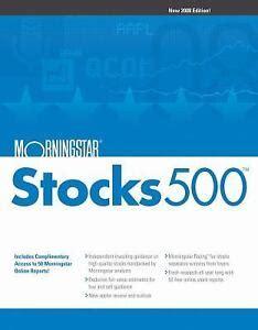 Morningstar Stock eBay