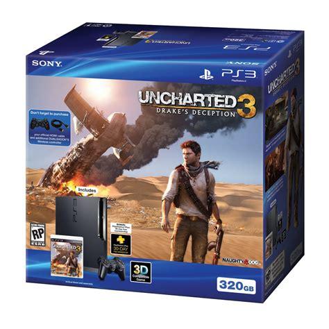 PS3 Uncharted 3 Bundle