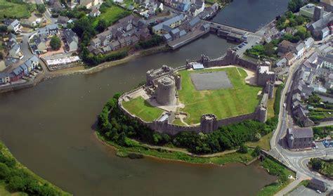 Pembroke Castle Aerial
