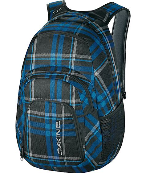 Plaid Dakine Backpacks