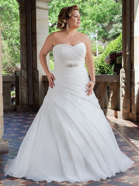 Plus Size Bridesmaid Gowns