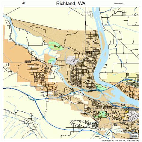 Richland WA Map