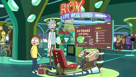 Rick and Morty Roy