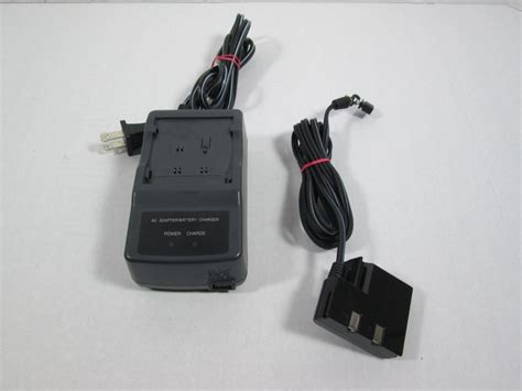 Sharp Camcorder Battery Charger