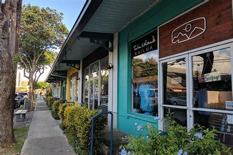 Shopping in Kailua Hawaii