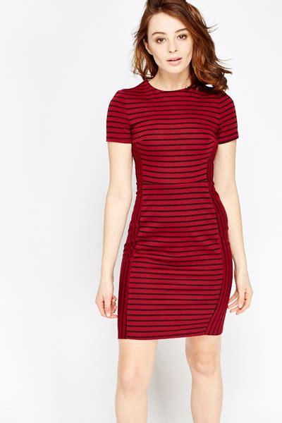 Stripe Pencil Dress