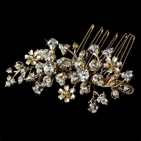 Swarovski Crystal Bridal Combs