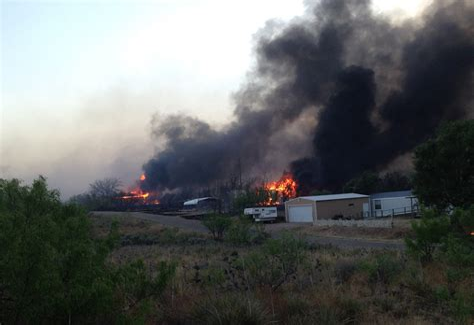 Texas Panhandle Fires