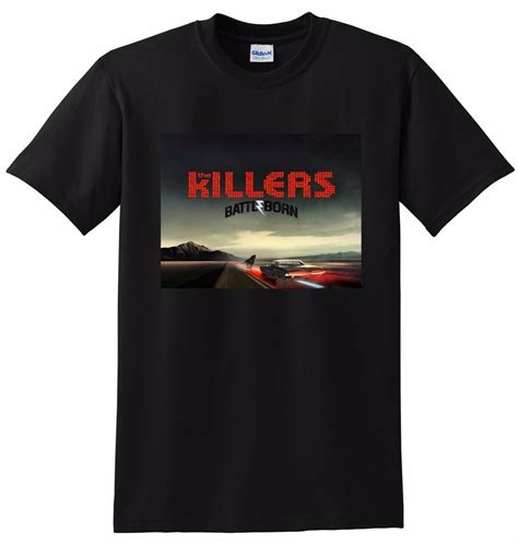 The Killers Battle Born Shirs