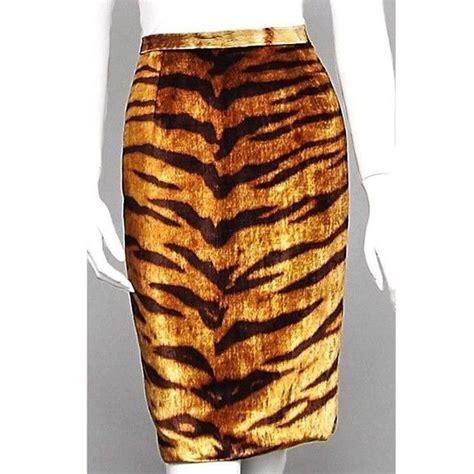 Tiger Pencil Skirt