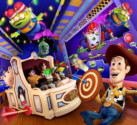 Toy Story Mania Disney World