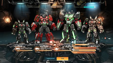 Transformers Fall of Cybertron Release