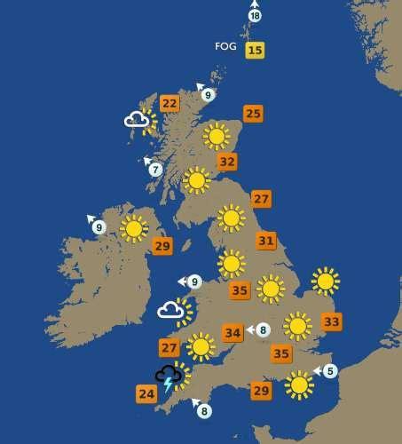 United Kingdom Weather Forecast