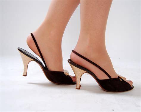 Vintage Slingback Heels