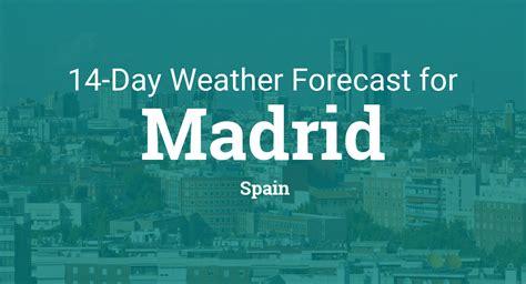 Weather Forecast Madrid Spain
