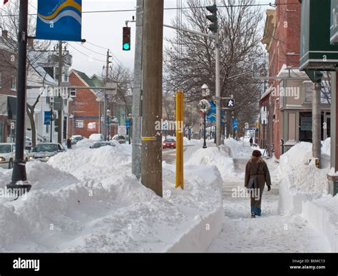 Winter in Fredericton NB